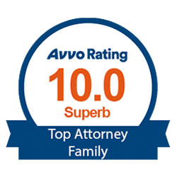 Avvo Rating - Top Family Attorney